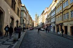 Prague Castle Area Royalty Free Stock Photography