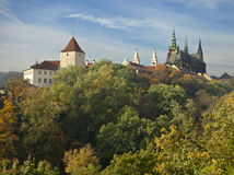 Prague Castle In Autumn Royalty Free Stock Images