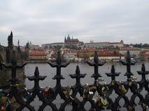 Prague castle. Building of Prague castle Stock Image