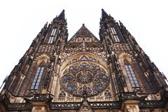 Prague castle building Stock Photography