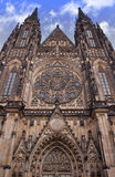 Prague castle cathedral Royalty Free Stock Photos