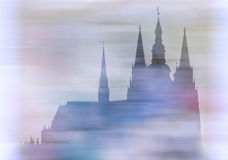 Prague castle - Cathedral Stock Photography