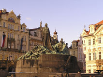 Prague - castle - cathedrals and monuments6. Monument in old town of Prague Royalty Free Stock Photo