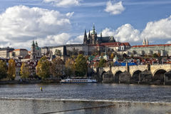 The Prague Castle Royalty Free Stock Photography