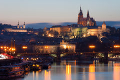 Prague Castle Cityscape stock image