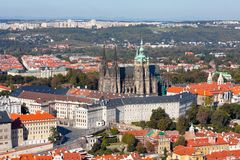 Prague Castle complex, detail Royalty Free Stock Images