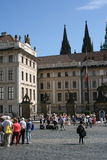 Prague Castle_court Royalty Free Stock Images