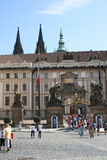 Prague Castle_courtyard Stock Image