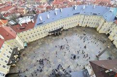 Prague castle courtyard Stock Images