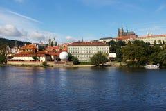Prague Castle in Czech Republic Stock Images