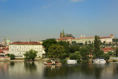 Prague castle czech republic europe Royalty Free Stock Photos