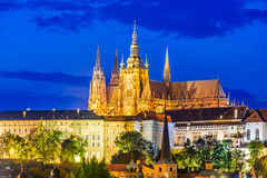 Prague Castle, Czech Republic Stock Images
