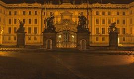 The Prague castle in the Czech republic Stock Photo