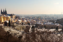 Prague Castle in the Czech Republic 2 Stock Images
