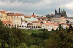 Prague Castle District Royalty Free Stock Images