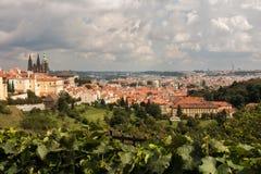 Prague Castle District Stock Photo