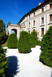 Prague Castle garden Stock Photography