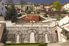 Prague Castle Gardens. (Praguem Czech Republic Royalty Free Stock Photos