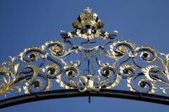 Prague -  castle gate Stock Images