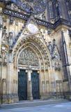 Prague castle gate Stock Images