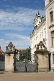 Prague Castle_gate Royalty Free Stock Photos