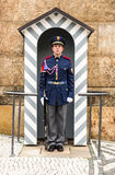 Prague, Castle Guard, Czech Republic Stock Photography