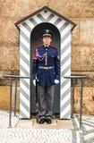 Prague, Castle Guard, Czech Republic stock photography