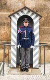 Prague, Castle Guard Stock Photo