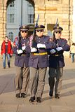 Prague castle guard Royalty Free Stock Photo