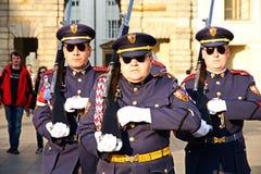 Prague castle guard Royalty Free Stock Photos