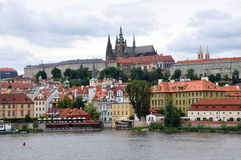 Prague Castle and Hradcany Stock Image
