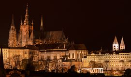 Prague castle Hradcany Royalty Free Stock Photos