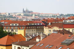 Prague Castle is the largest ancient castle in the world Royalty Free Stock Photo