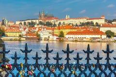 Prague Castle and Little Quarter, Czech Republic royalty free stock photo