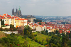 Prague Castle and the Little Quarter, Czech Republic Royalty Free Stock Photography