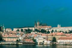 Prague Castle and the Little Quarter, Czech Republic royalty free stock image