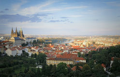 Prague Castle and Mala Strana Royalty Free Stock Photo