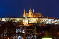 Prague Castle and Mala Strana, Czech Republic stock photo