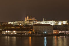 Prague Castle and Mala Strana, Prague, Czechoslovakia Royalty Free Stock Images