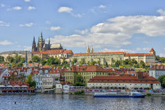 Prague Castle and Mala Strana, Prague, Czechoslovakia Stock Image