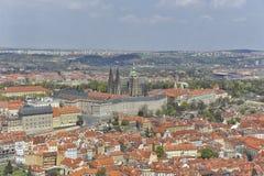Prague Castle and Mala Strana, Prague, Czechoslovakia Stock Photo