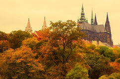 Prague Castle, old city Royalty Free Stock Photo
