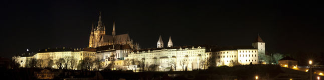 Prague castle panorama Stock Image