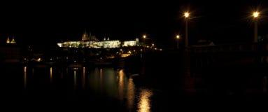 Prague castle panorama Royalty Free Stock Photo