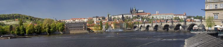 Free Prague Castle Panorama Stock Photography - 2313202