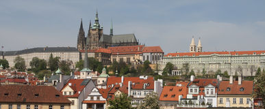 Prague Castle - panorama Royalty Free Stock Image