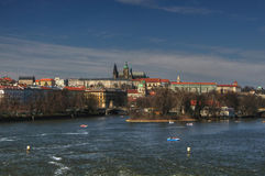 Prague castle panorama Stock Photo