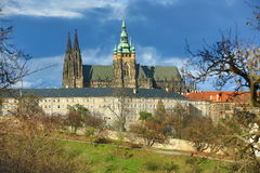 Prague Castle, Panorama of the Prague, lesser Town, Prague, Czech republic Stock Photos