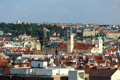 Prague Castle, Panorama of the Prague, lesser Town, Prague, Czech republic Royalty Free Stock Photo