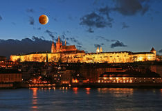 The Prague Castle in Prague Royalty Free Stock Photography
